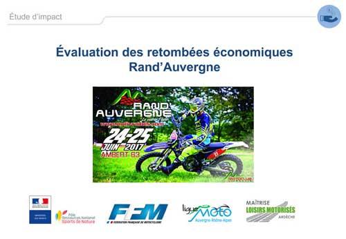 Impact économique Rand'Auvergne
